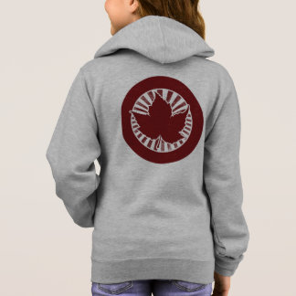 Red Canadian maple leaf Hoodie