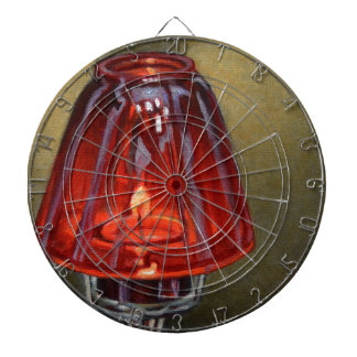 Red Candle Dartboard