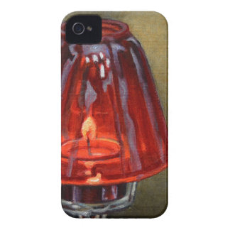 Red Candle iPhone 4 Case