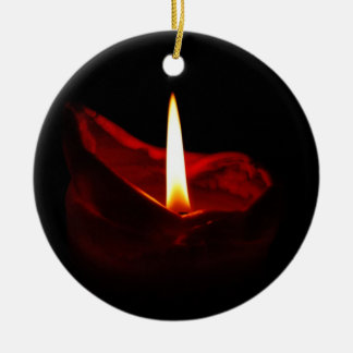 Red Candle Ornament