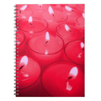 Red Candles Notebook