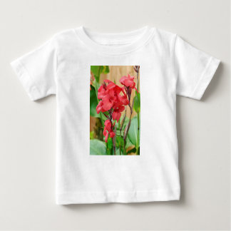 Red canna flowers baby T-Shirt