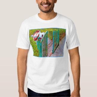 """Red Canoe"" EDUN LIVE Genesis Unisex Standard Crew T-shirts"