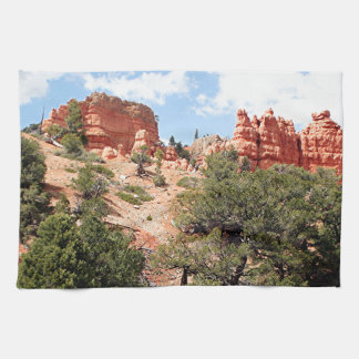 Red Canyon, Utah, USA 4 Tea Towel