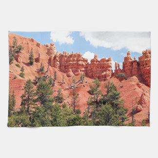 Red Canyon, Utah, USA 7 Tea Towel