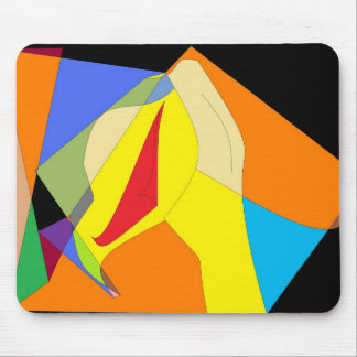 Red Cape Mouse Pad