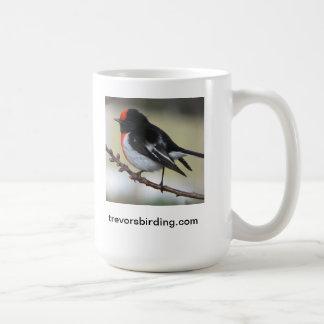 Red Capped Robin Coffee Mug