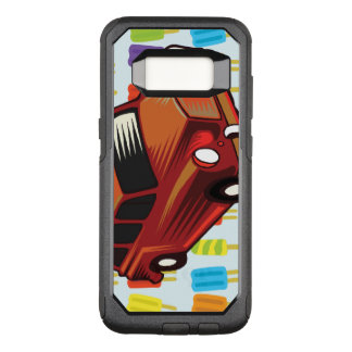 red car and Popsicle's OtterBox Commuter Samsung Galaxy S8 Case