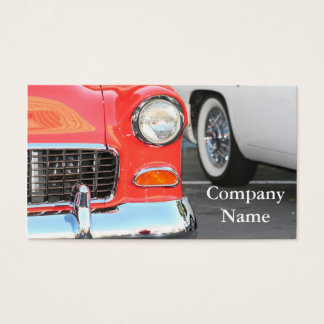 Red Car business cards