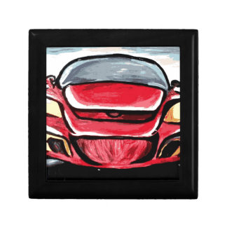Red car gift box