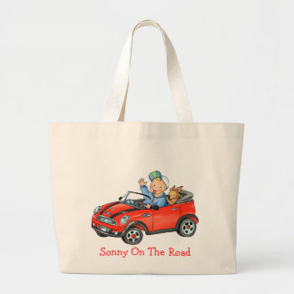 Red Car On the Road Bag
