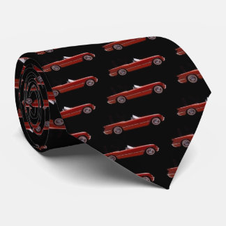 red car tie