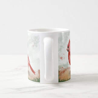 Red Cardinal Coffee Cup