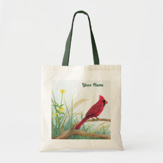 Red Cardinal - Customisable Tote Bag