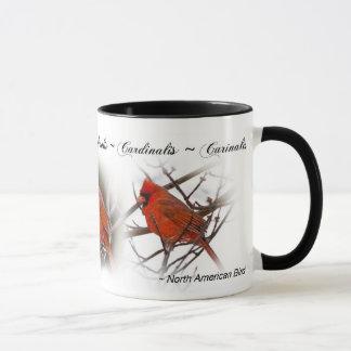 Red Cardinal Mug - Cardinalis