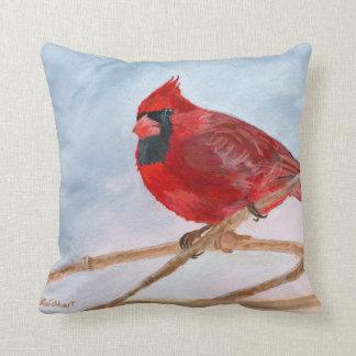 Cardinal Bird Throw Pillows : Pretty Bird Cushions - Pretty Bird Scatter Cushions Zazzle.com.au