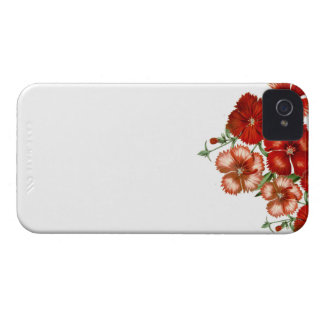 Red Carnation iPhone 4 case