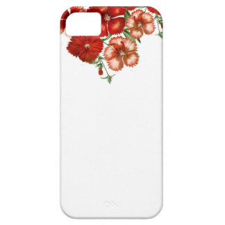 Red Carnation Phone case iPhone 5/5S Cover