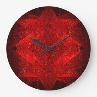 Red Carpet - Wall Clock