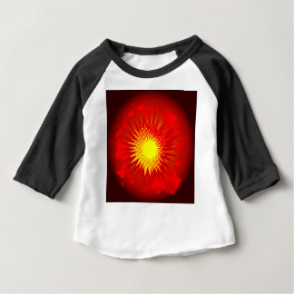 Red Cartoon Explosion Baby T-Shirt