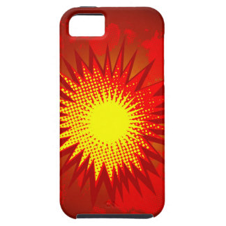 Red Cartoon Explosion Case For The iPhone 5