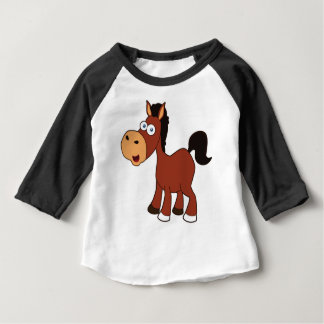 red cartoon horse baby T-Shirt