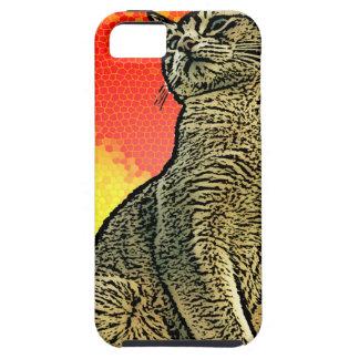 Red Cat iPhone 5 Cases
