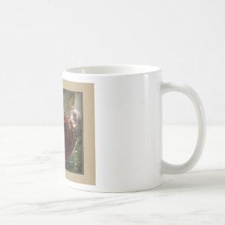 Red Cat Ornament Mug