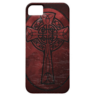 Red Celtic Cross iPhone 5 Covers