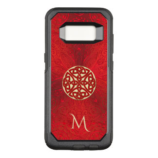 Red Celtic Knot Mandala Otterbox OtterBox Commuter Samsung Galaxy S8 Case