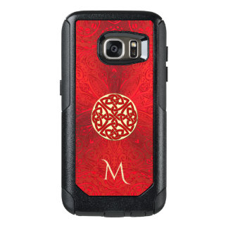 Red Celtic Knot Mandala Otterbox OtterBox Samsung Galaxy S7 Case