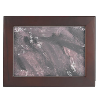 Red Chalk and Black Ink Memory Box