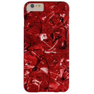 Red Chaos Barely There iPhone 6 Plus Case