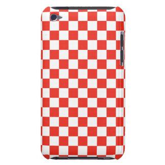 Red Checkerboard iPod Case-Mate Case