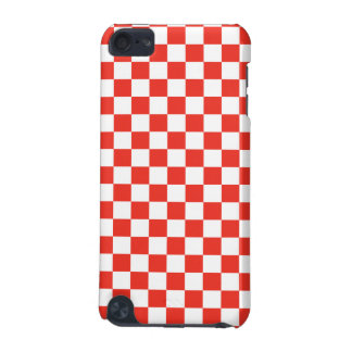 Red Checkerboard iPod Touch (5th Generation) Case