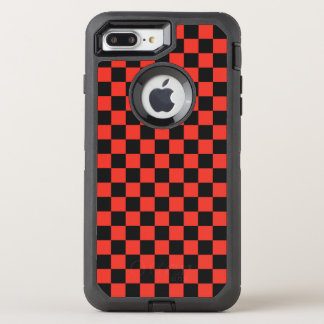 Red Checkerboard OtterBox Defender iPhone 8 Plus/7 Plus Case