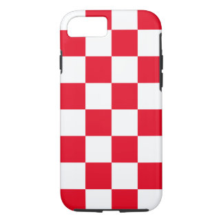 Red Checkered iPhone 7 Case