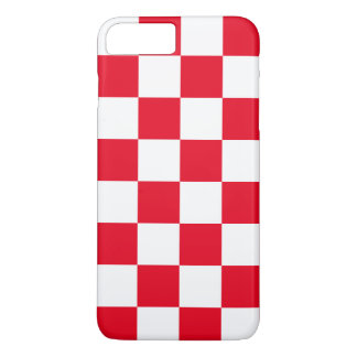 Red Checkered iPhone 7 Plus Case