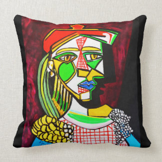 RED CHECKERS CUSHION