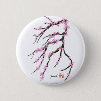 Red Cherry Blossom 32, Tony Fernandes 6 Cm Round Badge