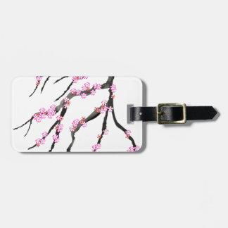 Red Cherry Blossom 32, Tony Fernandes Luggage Tag