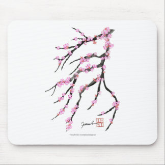 Red Cherry Blossom 32, Tony Fernandes Mouse Pad