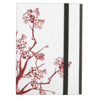 Red Cherry Blossoms iPad Air Case