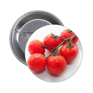 Red cherry tomatoes ピン