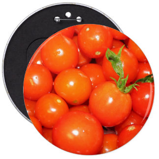 Red Cherry Tomatoes Button