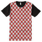 Red Chess All-Over Print T-Shirt