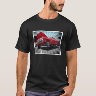 Red Chevrolet Impala Lowrider Classic Shirt