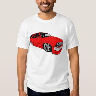 Red Chevy Xtreme Blazer Tshirts
