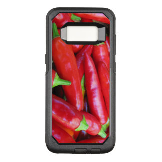 Red Chili Hot Peppers OtterBox Galaxy S8 Case