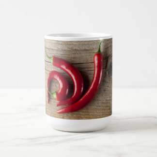 Red Chili Pepper Basic White Mug